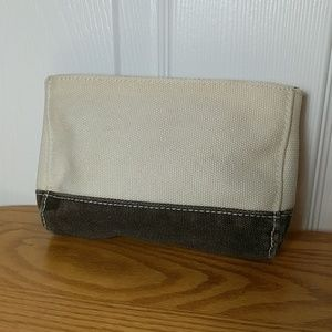 Lands' End cosmetic bag